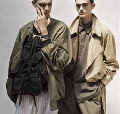 Hed Mayner SS15 look book on Deux Hommes mag