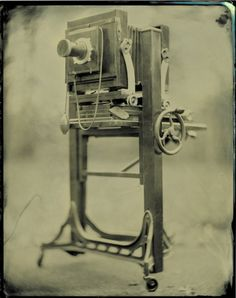 Studio large format camera...ambrotype. One day I will own one!