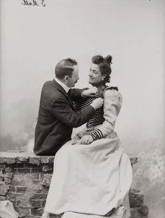An Italian couple, 1898.