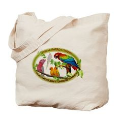 Its a Parrot Thing! Tote Bag on CafePress.com