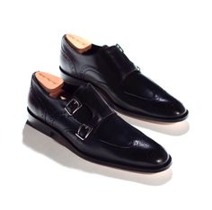 Double monks wingtip- you don't need anything else....