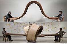Furniture Sculptures by Michael Beitz