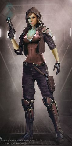 Woman soldier Picture (big) by Ceco pstchoart