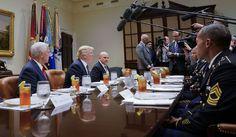 Trump hosts Afghanistan veterans as deployment decision looms - http://www.pepage365.com/?p=11614