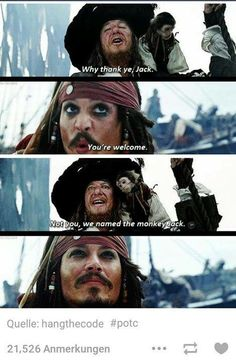 And I looked into his eyes and I thought /BIC/ Narnia, Warrior Cats, Captian Jack Sparrow, Funny Memes, Funny Facts, Memes Humor, Movie Facts, Jack Sparrow Quotes, Hector Barbossa