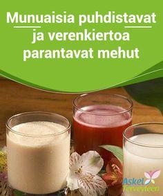 Munuaisia puhdistavat ja verenkiertoa parantavat mehut  Diureettisten ominaisuuksien ansiosta sitruunan ja vesimelonin yhdistelmä auttaa elimistöäsi poistamaan myrkkyjä. Tämä pitää nestetasapainon kunnossa ja parantaa verenkiertoa.
