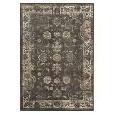 Character-building distressing highlights the timeless design of this Persian-inspired art silk rug, a captivating addition to your living room or den.