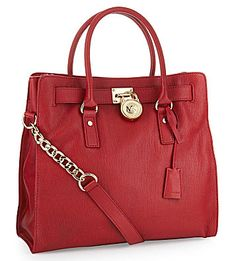 Michael Kors Hamilton Tote. I actually have this bag. It was my gift to myself for getting into med school. Sadly, I mostly carry around a backpack these days.