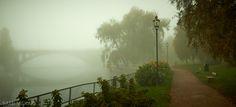 Ratina bridge in the mist