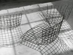 Harry Bertoia - Diamond Chair - Knoll - 1952 Harry Bertoia's legacy of innovation, inspiration, and beauty with the Bertoia collection has been in continuous production around the world since its introduction