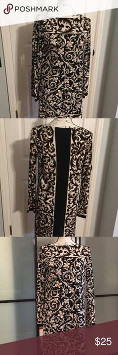 Silk Dress Nicole Miller chic silk dress.  Like new condition — worn maybe 2xs.  Could be belted to add the curves !  Very sophisticated. Nicole by Nicole Miller Dresses Midi