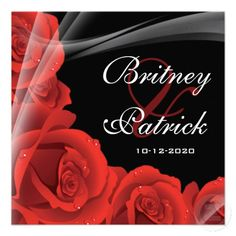 20 Best Black White And Red Wedding Invitations Images Red Wedding