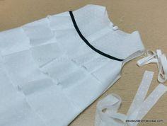 blusón infantil de algodón
