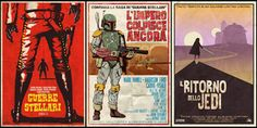 Image of Star Wars Spaghetti Western Trilogy- 3 Posters 24x36 2nd Edition