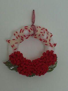 Ghirlanda fiori rossi