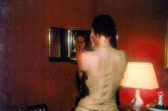Valérie in the mirror, L'Hotel, Paris, 1999 Cibachrome marouflé sur aluminium, x cm