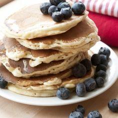 Recept - Amerikaanse pannenkoekjes - Dille & Kamille - met Zonnigfruit