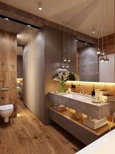 Badezimmer dachgeschoss 47 Tiny House Bathroom Remodel Ideas That Your Home Needs Toile Bedding Arti Bathroom Design Luxury, Modern Bathroom Decor, Modern Bathroom Design, Home Interior Design, Bathroom Designs, Small Bathroom Interior, Exterior Design, Bad Inspiration, Bathroom Design Inspiration