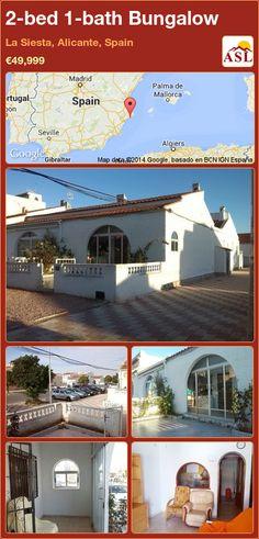 2-bed 1-bath Bungalow in La Siesta, Alicante, Spain ►€49,999 #PropertyForSaleInSpain