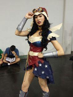 Classy Steampunk Wonder Woman #Cosplay