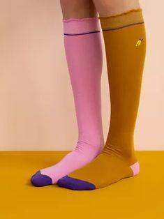 knee high socks   Sticky Lemon Knee High Socks, Rubber Rain Boots, Shoes, Fashion, Moda, Zapatos, Shoes Outlet, La Mode, Fasion