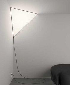Peter Bristol. Corner Lamp