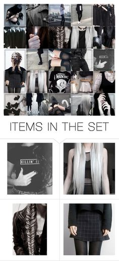 """""""What IS soft grunge..."""" by professorjuliet ❤ liked on Polyvore featuring art"""