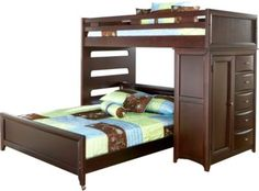Ivy League Cherry Twin Full Student Loft with Chest . $1,099.99. 84L x 84W x 68H. Find affordable Twin Beds for your home that will complement the rest of your furniture.
