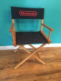 Nintendo directing a movie? http://goo.gl/9NJBSA  #nintendo #movie #director #chair #nes #snes #gamecube #n64