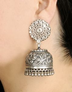 Fabindia.com | Earrings Silver Anusuya 962