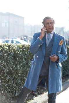 """Street style from Pitti Uomo A/W '15 - GQ.co.uk"""