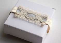 Bridal Garter Vintage Lace Blue Wedding Garter by LuciaStofej Wedding Garter, Vintage Lace, Blue Wedding, Wedding Rings, Engagement Rings, Bridal, Trending Outfits, Unique Jewelry, Handmade Gifts