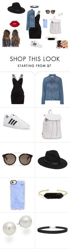 """Feeling Famous"" by fashion-jess ❤ liked on Polyvore featuring Madewell, adidas, Aéropostale, STELLA McCARTNEY, Lack of Color, Casetify, BaubleBar, AK Anne Klein, Humble Chic and Lime Crime"