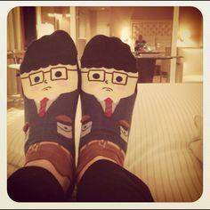 My @ModCloth business man socks :)