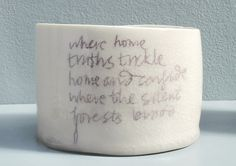 Where Home Pot - Carys Davies by Manchester Craft & Design Centre, via Flickr