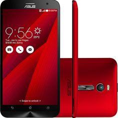 Smartphone Asus Zenfone 2 Dual Chip Desbloqueado Android 5.0 Tela 5.5'' 16GB 4G Wi-Fi Câmera 13MP - Vermelho De: R$ 1.499,00 R$ 1.249,00  (16% de desconto) 10x de R$ 124,90 sem juros Ver parcelas R$ 1.186,55 (5% de desconto) no boleto bancário