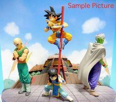 Dragon Ball Z Diorama Figure Set Vol.2 Gokou Piccolo Chichi Tenshinhan JAPAN