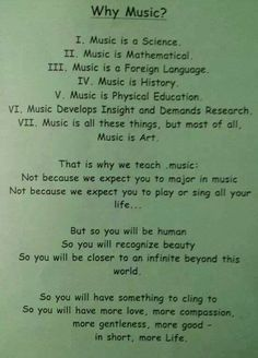 This is why I study music. I'm not a great violinist, I'm not the best singer, but I love learning it.