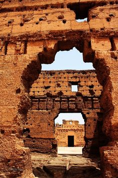 Ruins of Palais Badi - Marrakech, Morocco (by Jorge Sanz Martin on 500px)