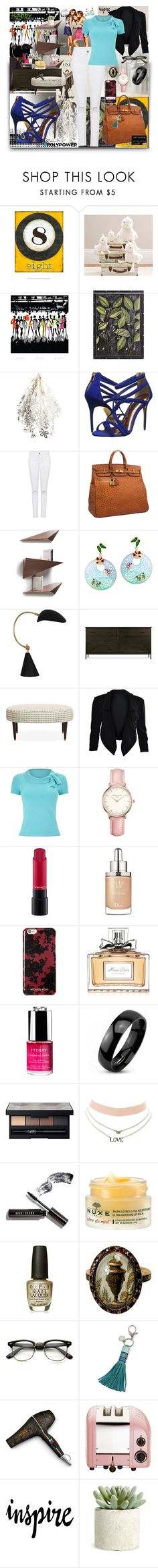 """Showdown"" by black-wings ❤ liked on Polyvore featuring Pier 1 Imports, Artecnica, Ted Baker, Hermès, Tonon, Robert Abbey, Precis Petite, Topshop, MAC Cosmetics and Christian Dior"