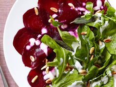 Salt-Roasted Beet Carpaccio Recipe : Food Network Kitchen : Food Network - FoodNetwork.com
