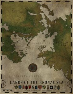 This Is The Overall Map Of The Continent Of Tal Dorei On The World
