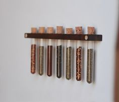 Hickory Spice Rack by Meriwether