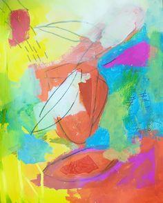 My art Monica Geerts mixed media on canvas