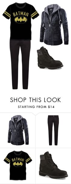 """Fall out boy"" by lady-shadylady ❤ liked on Polyvore featuring Dolce&Gabbana, Bioworld, Timberland, men's fashion and menswear"