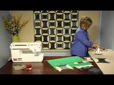 In this Quilting Quickly tutorial, Fons & Porter sewing specialist Colleen shows you how to make the spool block in the quilt, Perfect Union. This quilt bloc...