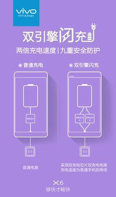 New vivo X6 teaser shows off dual fast charging technology - GSMArena.com news