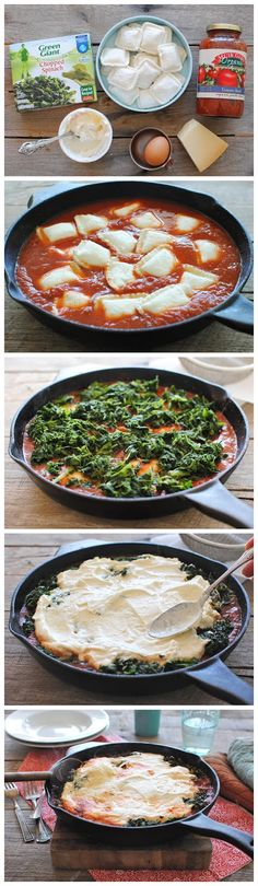 Ravioli Skillet Lasagna - kiss recipe