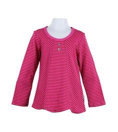 essentials jump stripe tunic 18-24m
