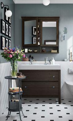Bathroom Hemnes Series Ikea Intended For Vanities Light Bulbs Vanity - Ikea 48 bathroom vanity
